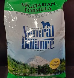 Natural Balance Vegetarian Dog Food 4.5lb