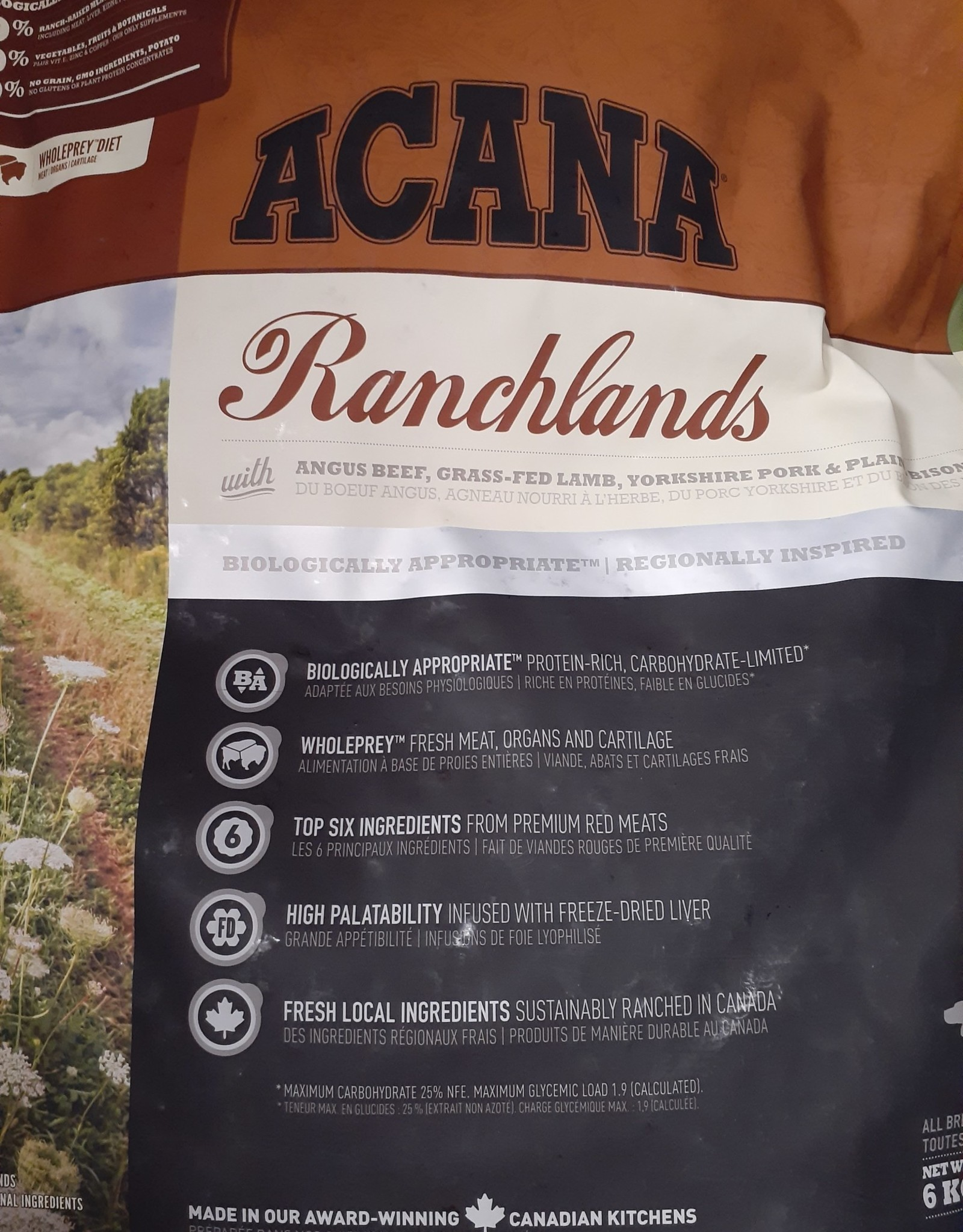 acana Acana Ranchlands 6kg DOG