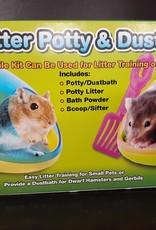 Critter Potty & Dust Bath