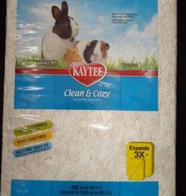 kaytee Clean & Cozy white bedding  49L