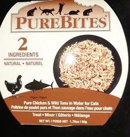 PureBites PureBites Whole Food \ Cat \ Tuna & Chicken Breast 12 x 50g