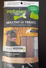 Vetgies Vetgies Medium Tubes Peanut Butter 4pk