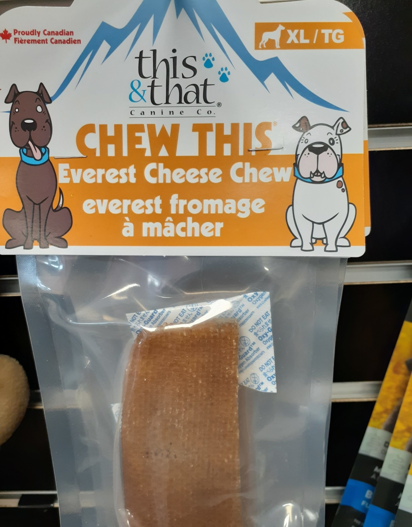 this & that everest cheese chews ex large