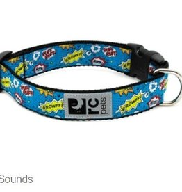 "RC Pets RC clip collar 1"" large comic sounds"