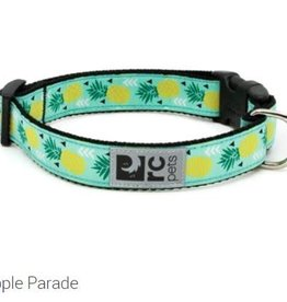 """RC Pets RC clip collar 1"""" large pineapple parade"""