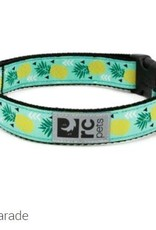 "RC Pets RC clip collar 1"" medium pineapple parade"
