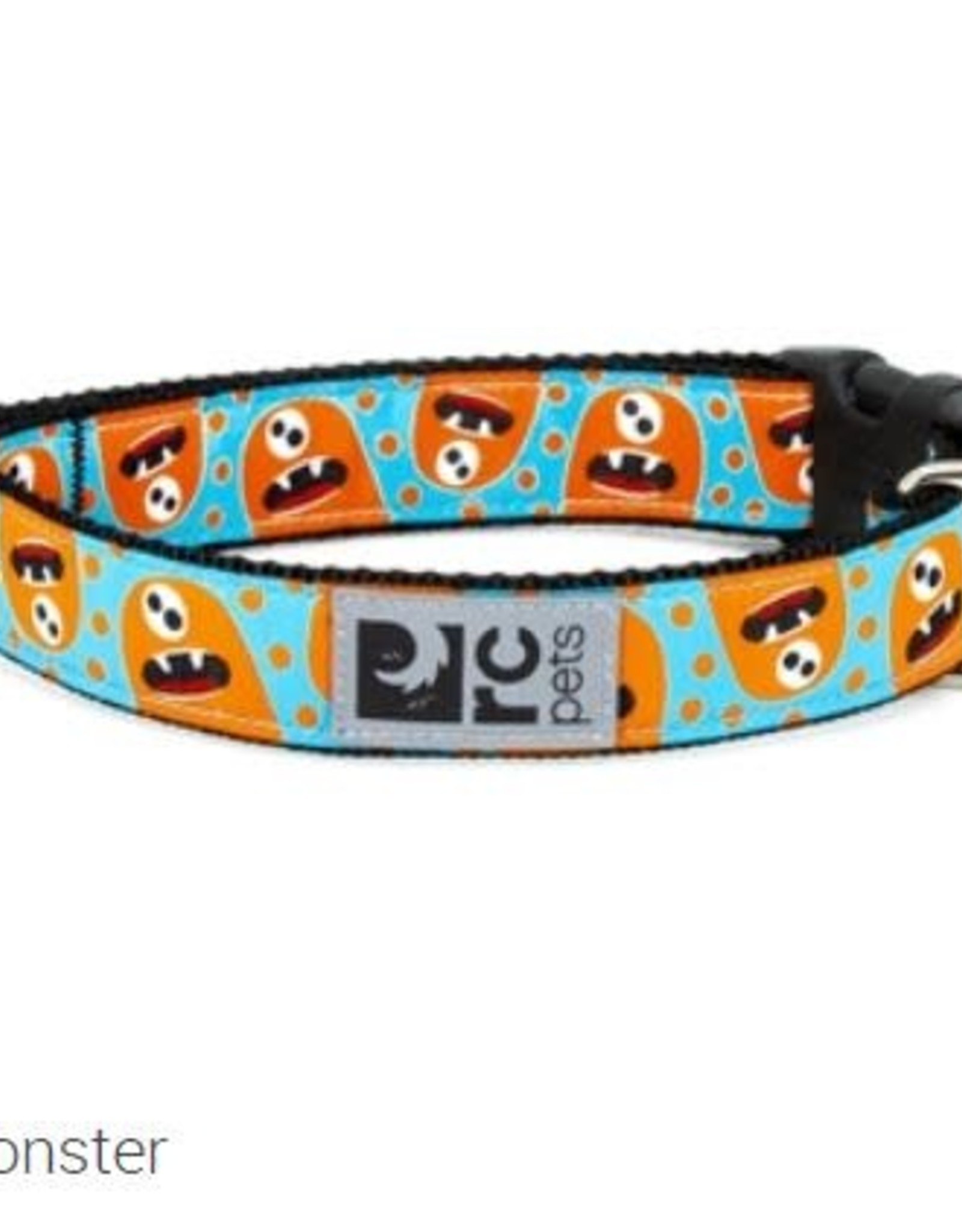 "RC Pets RC clip collar 1"" medium hangry monster"