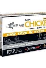 Iron Will Raw Iron Will Raw Basic Chicken - 6lb box
