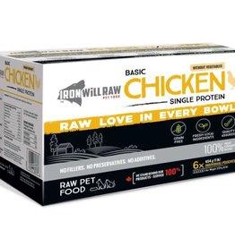 Iron Will Raw Iron Will Basic Chicken-  6lb box