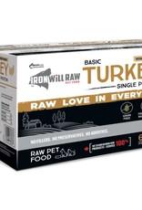 Iron Will Raw Iron Will Raw Basic Turkey - 6lb box
