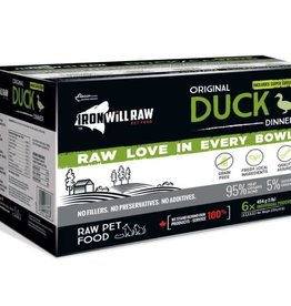 Iron Will Raw Iron Will Duck - 6lb Box