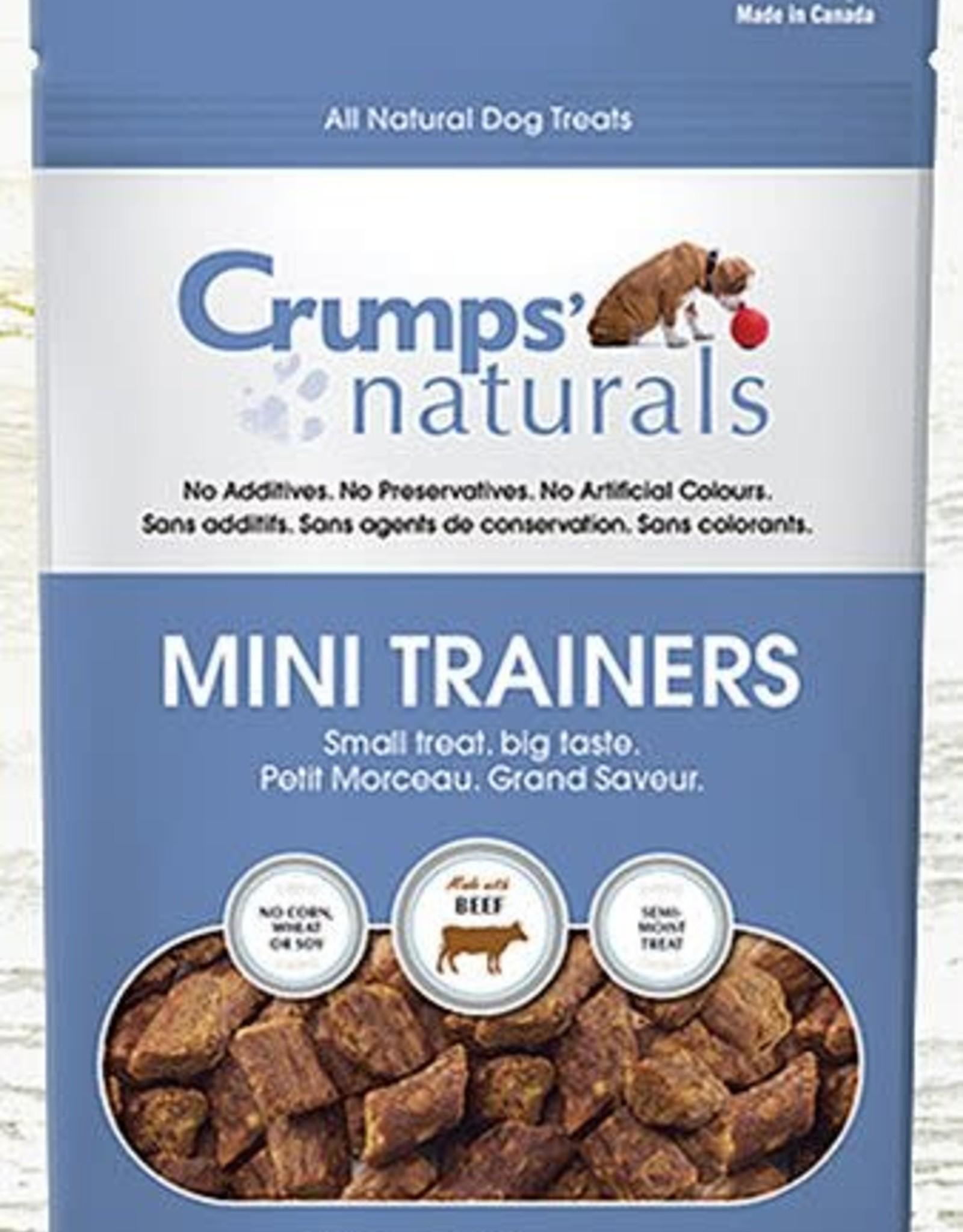 Crumps Natural Crumps Naturals Mini Trainers Beef - 120g