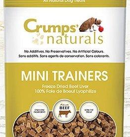 Crumps Natural Crumps' Naturals Mini Trainers Beef Liver - 50g