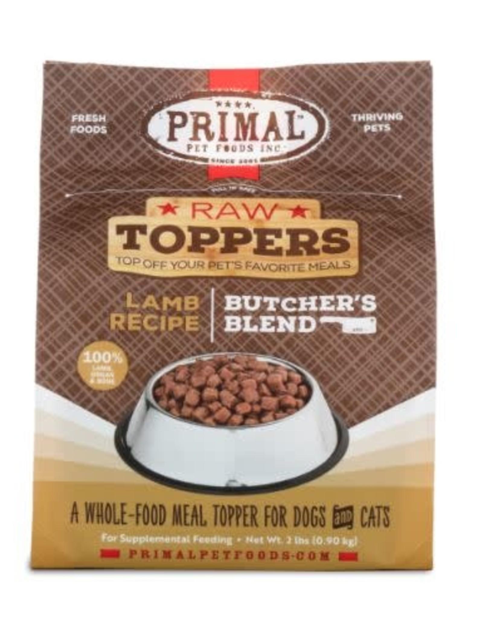 Primal Pet Foods Primal Lamb Market Mix Topper 5lb