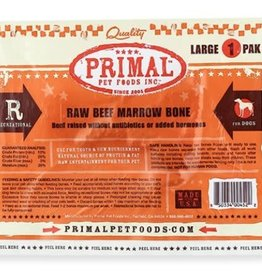 Primal Pet Foods Primal Frozen Beef Marrow Bone Large 1.1lb