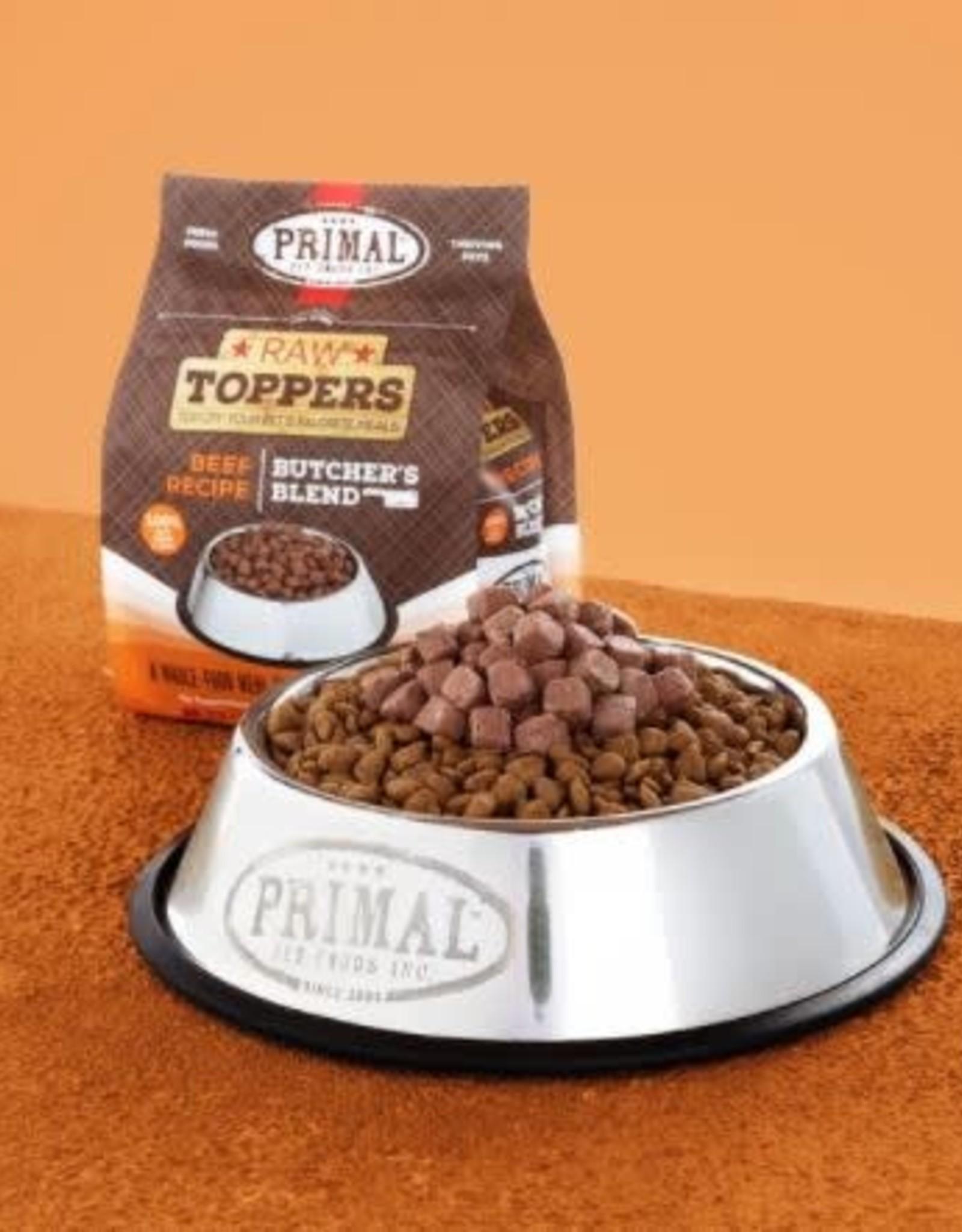 Primal Pet Foods Primal Beef Butchers Blend Topper 2lb