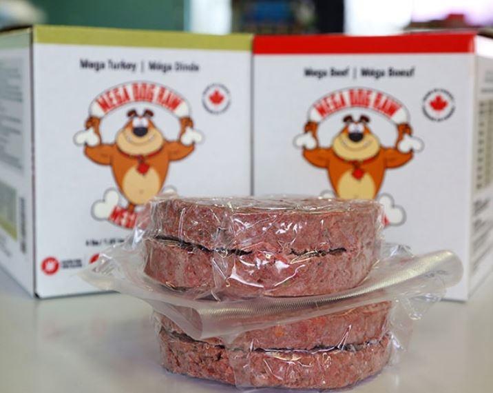 Mega dog Raw Patties - Lincoln ON