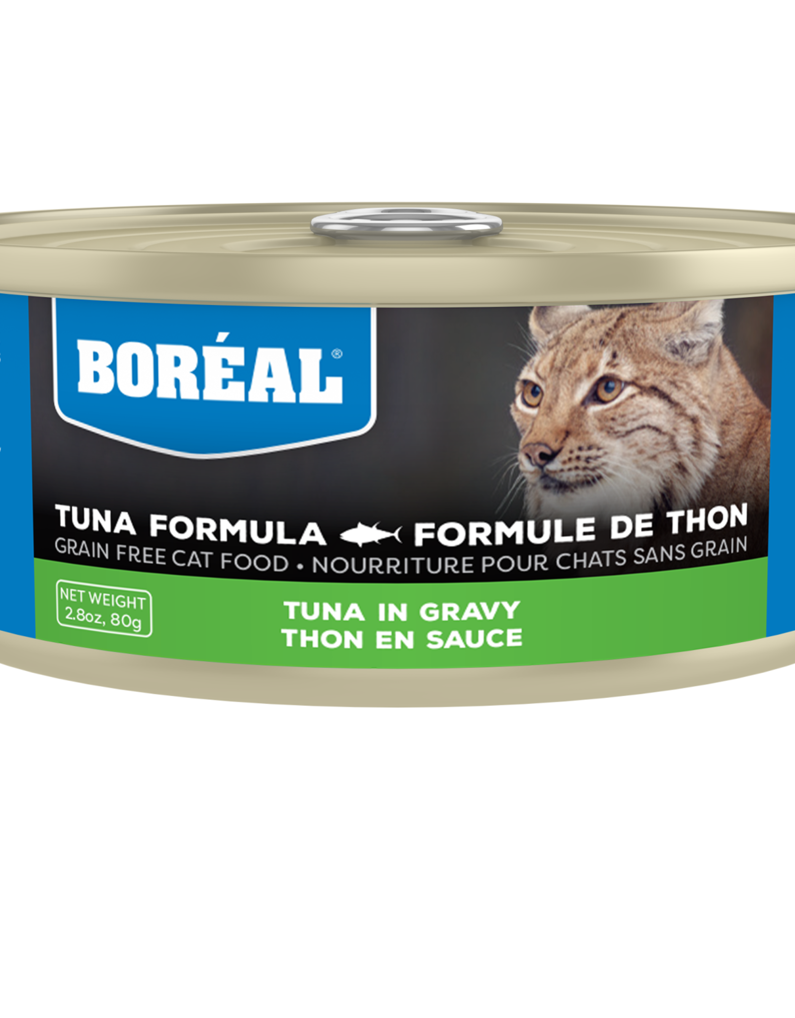 Boreal BOREAL Tuna Red Meat in Gravy CAT 156g