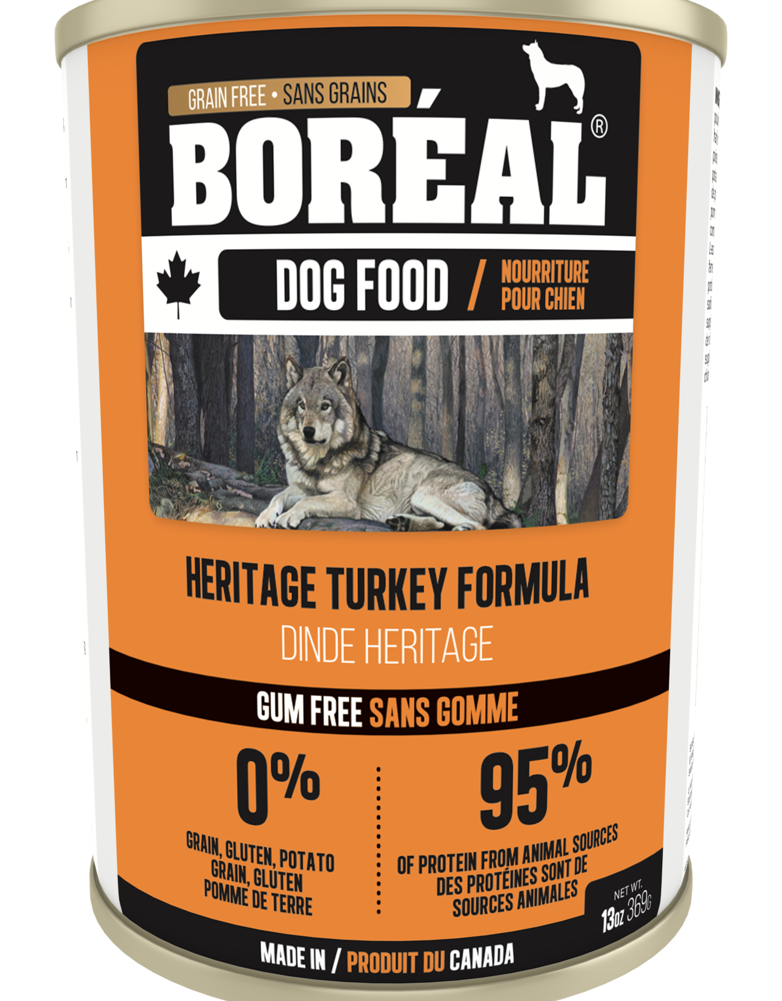 Boreal BOREAL Heritage Turkey DOG 369g