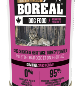 Boreal BOREAL Cobb Chicken and Heritage Turkey DOG 369g