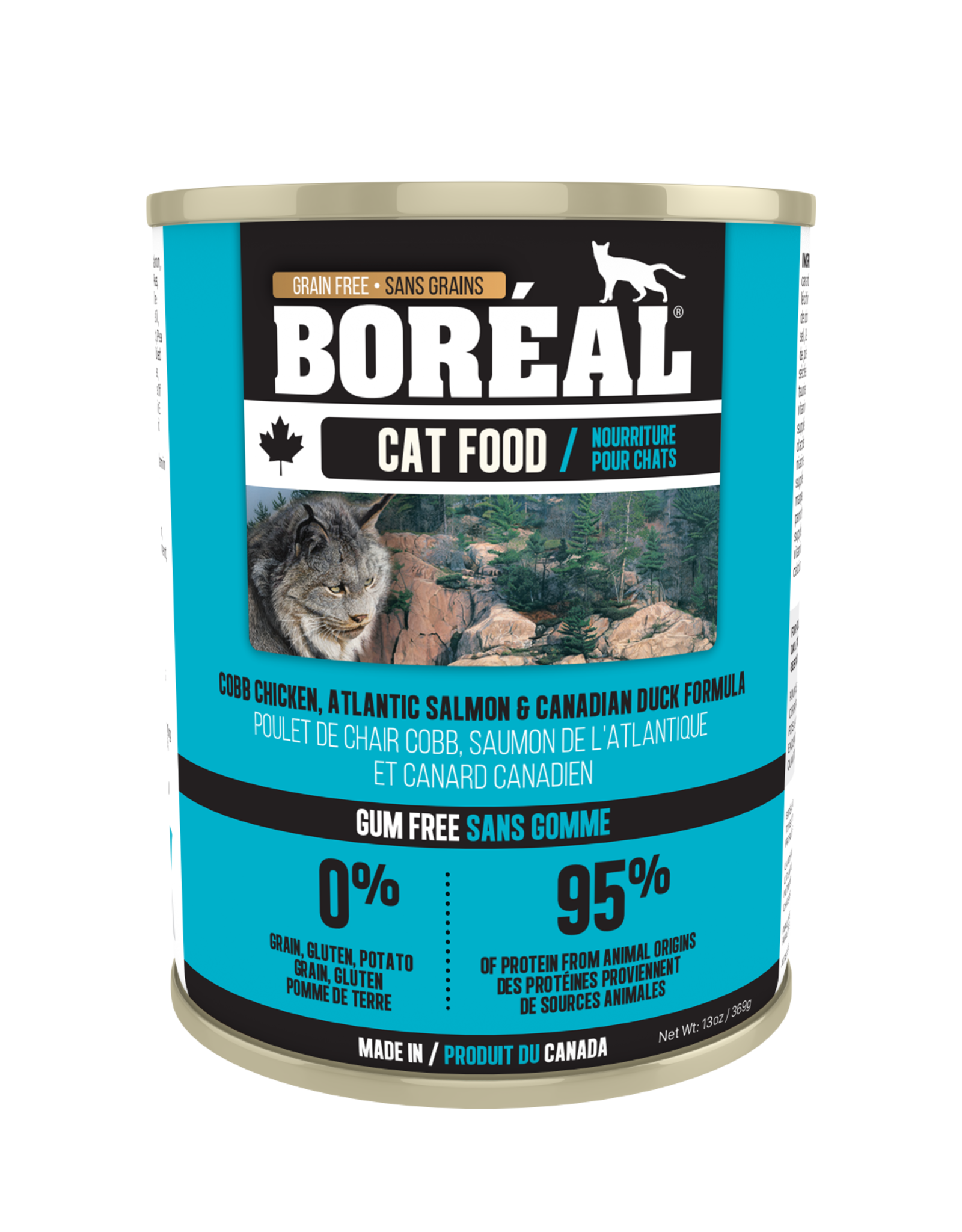 Boreal BOREAL Cobb Chicken Atlantic Salmon and Canadian Duck CAT 369g