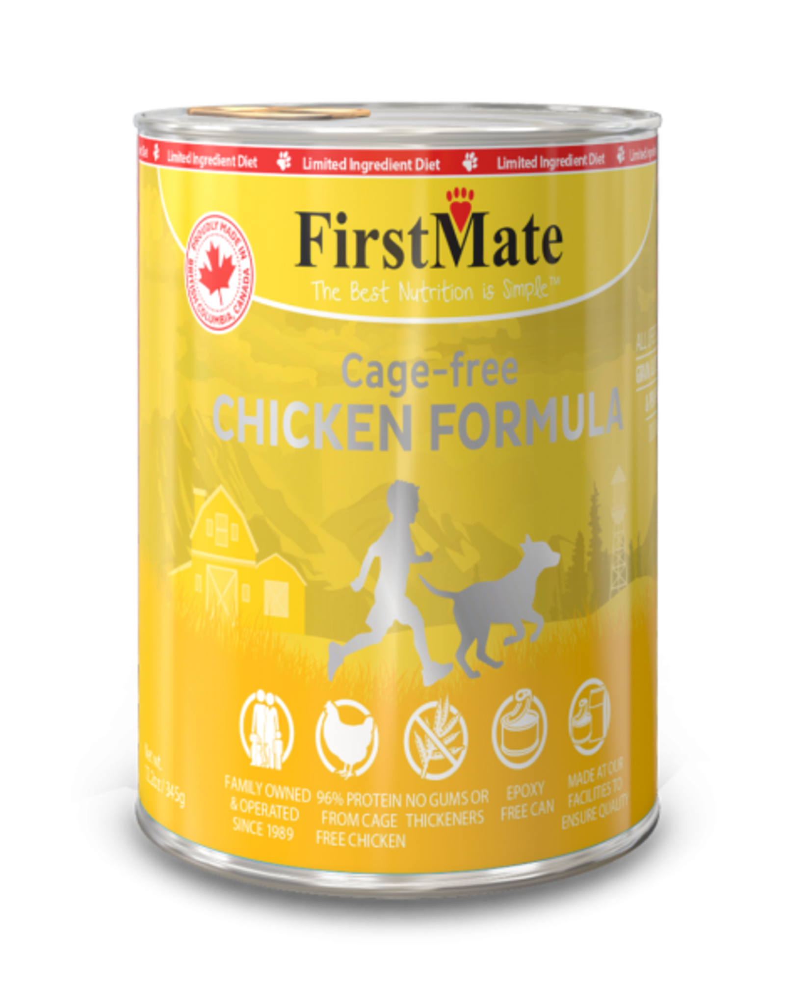FirstMate FirstMate Canned Chicken DOG 354g