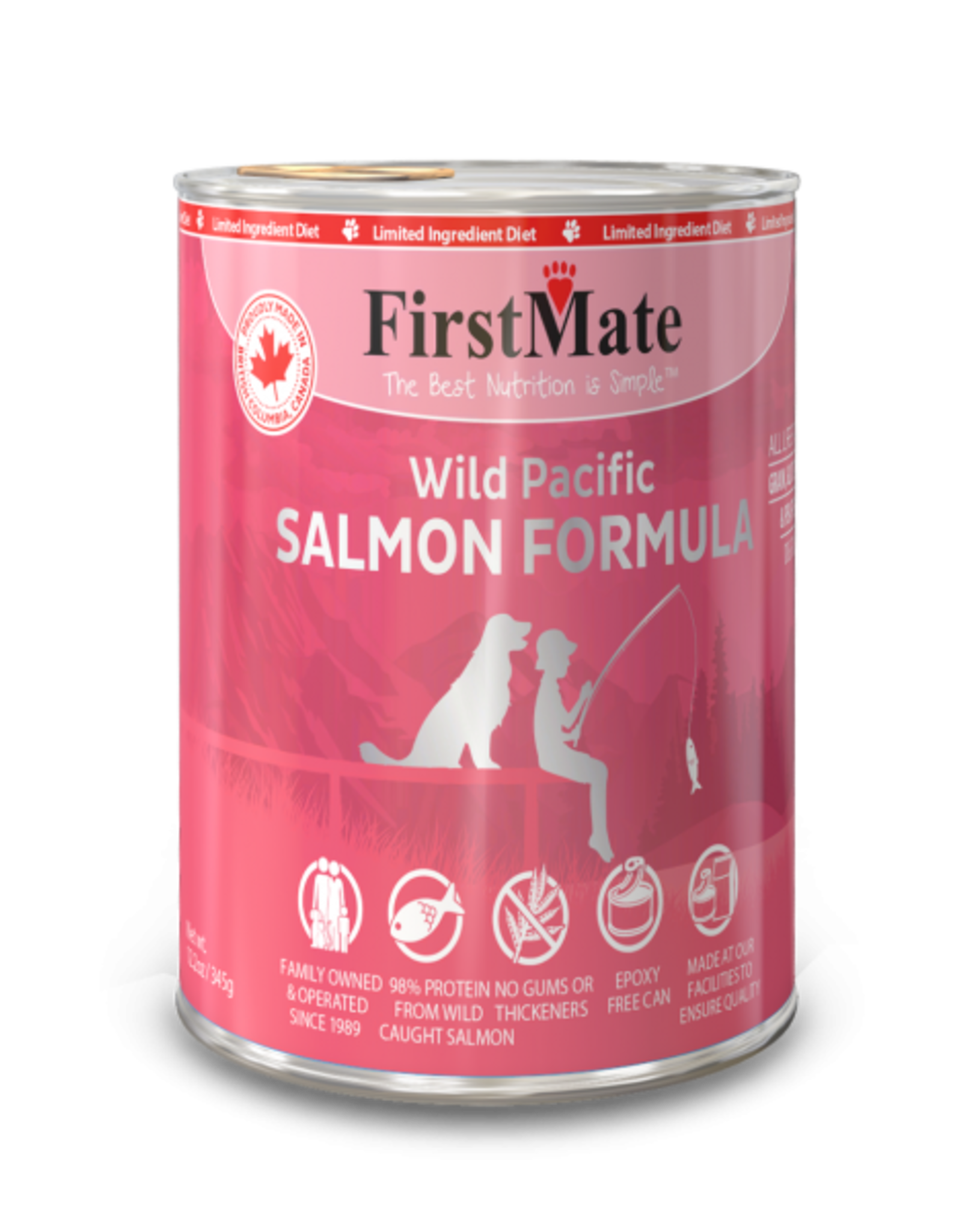 FirstMate FirstMate Canned Salmon DOG 354g