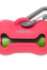 Messy Mutts Messy Mutts Waste Bag Holder - Watermelon