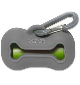 Messy Mutts Messy Mutts Waste Bag Holder - Grey