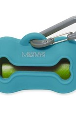 Messy Mutts Messy Mutts Waste Bag Holder - Blue