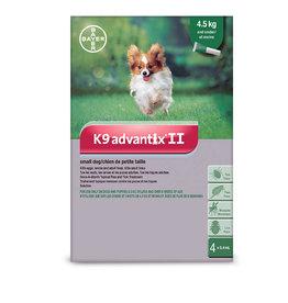 Bayer K9 Advantix II S Dog 4ds (under 4.5kg)
