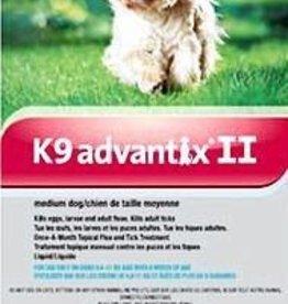 Bayer K9 Advantix II M Dog 4ds 1.0ml (4.6-11kg)