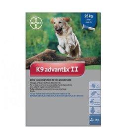 Bayer K9 Advantix II X Dog 4dsx 4.0ml (over 25kg)