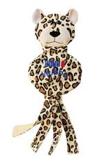 KONG KONG Wubba No Stuff Cheetah Large