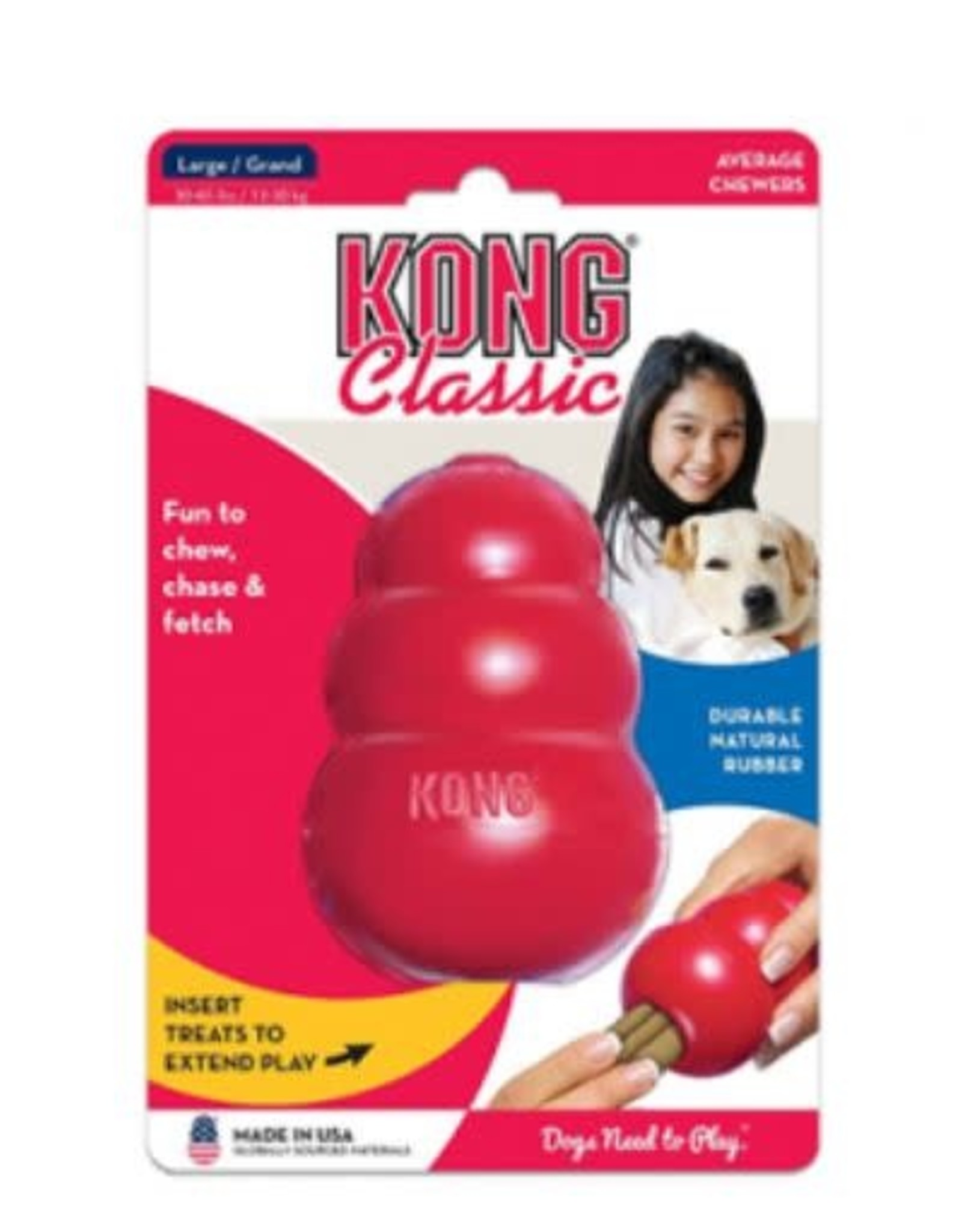 KONG kong classic red large