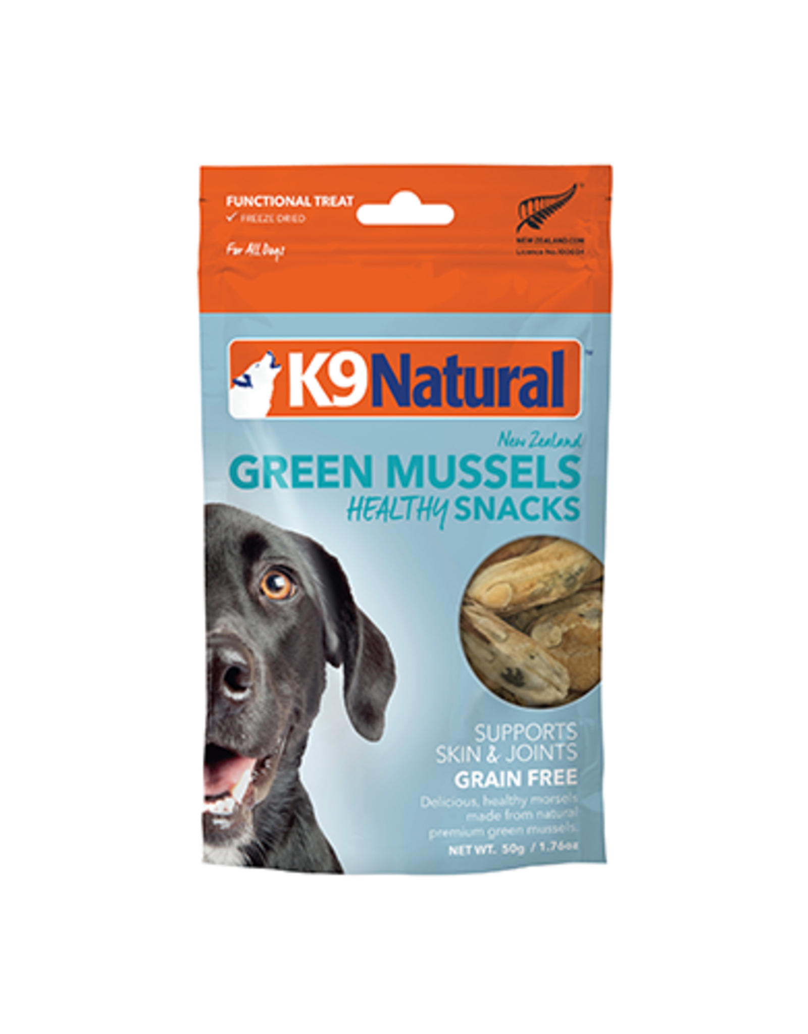 k9 Natural k9 Natural green mussels snack 50g