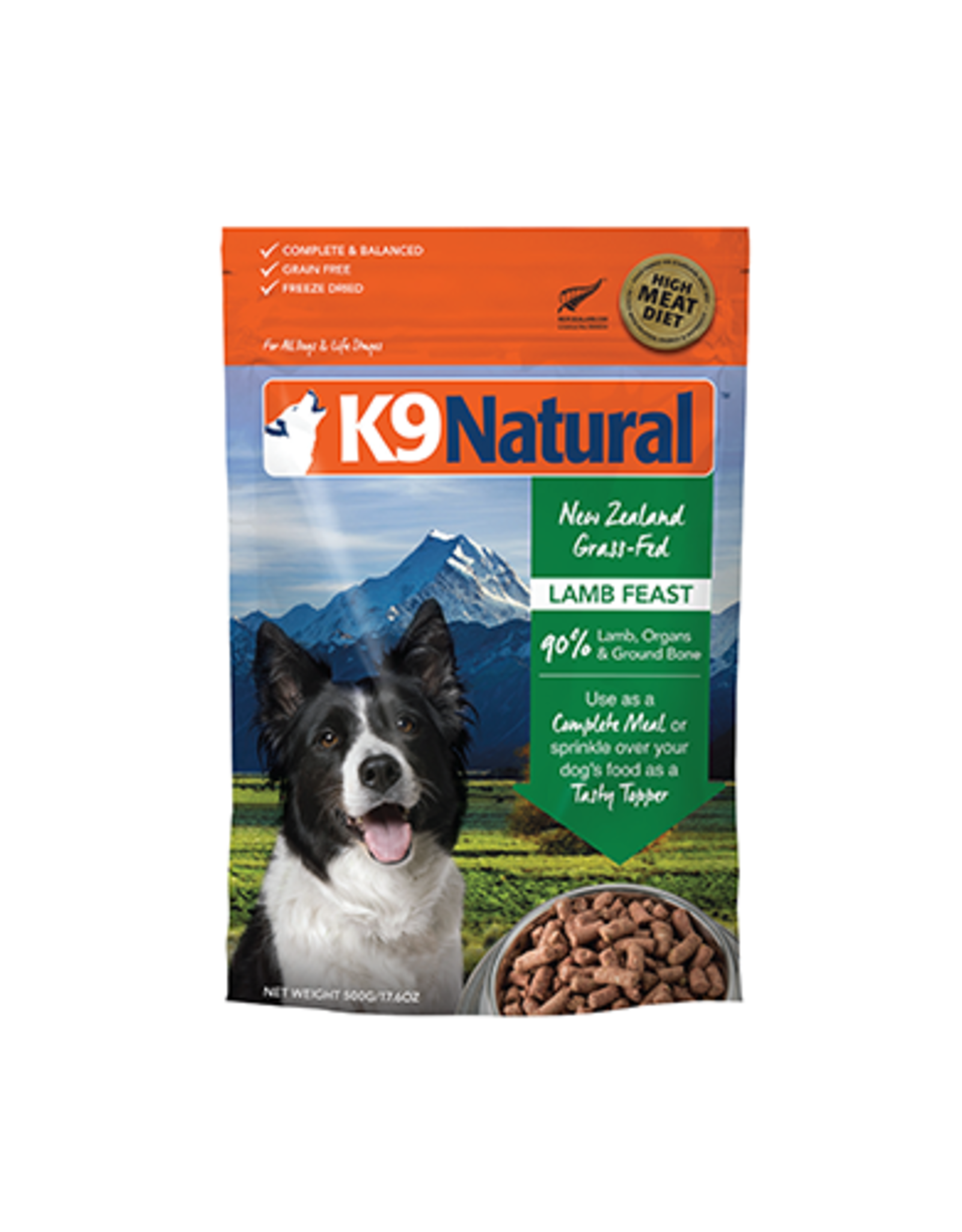 k9 Natural K9 natural lamb feast 500g