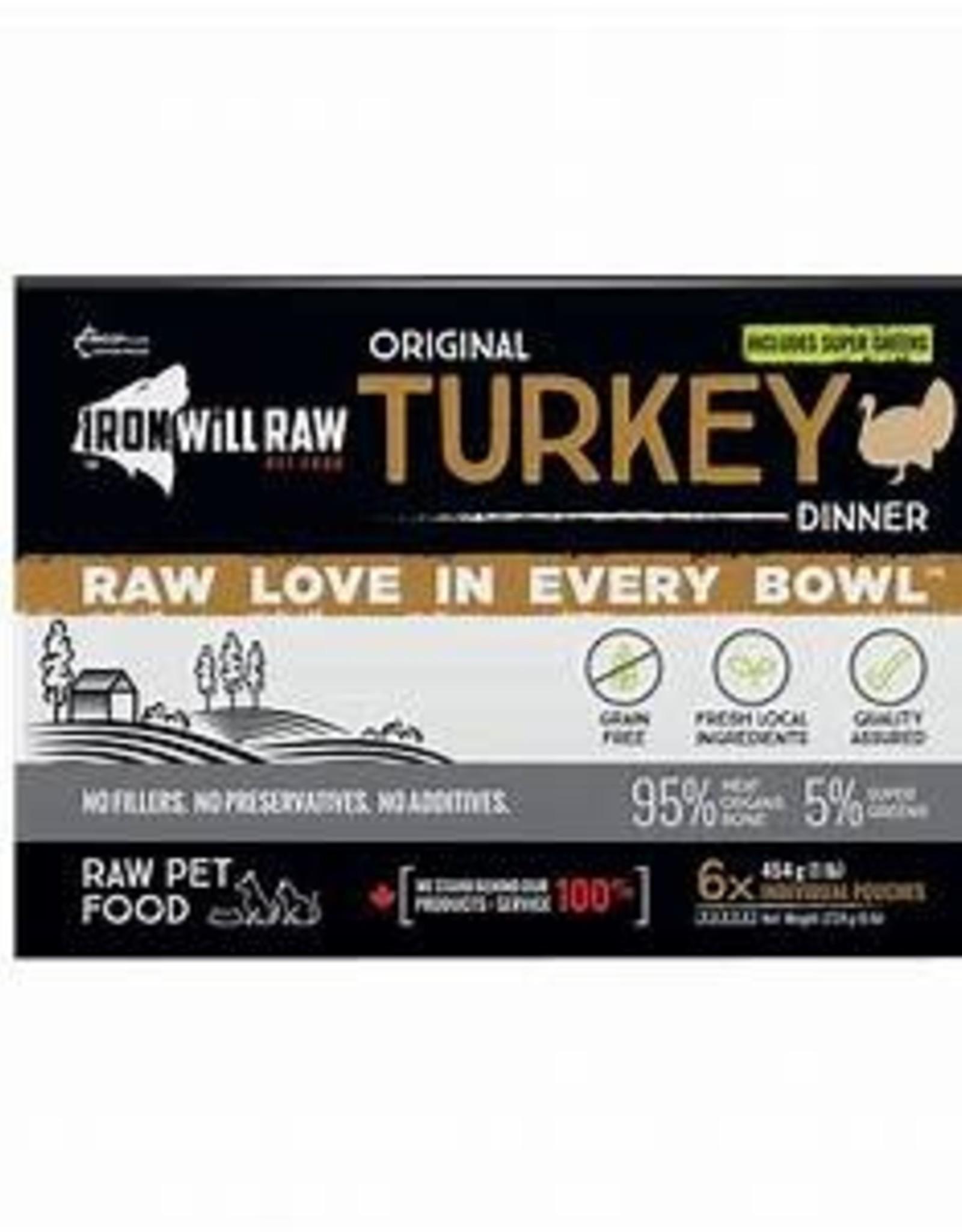 Iron Will Raw Iron Will Raw Original Turkey Box 6lbs