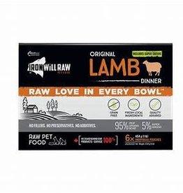 Iron Will Raw Iron Will Raw Original Lamb Dinner Box 6lbs