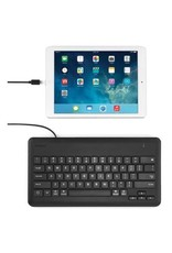 Kensington Wired Keyboard for iPad with Lightning Connector - Black