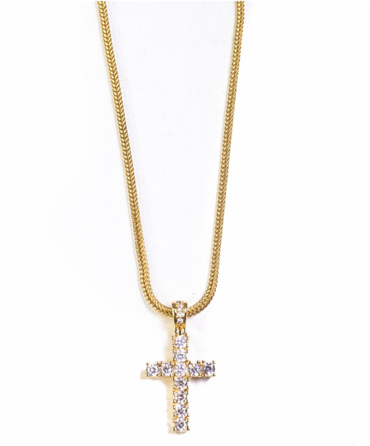 GOLDEN GILT MINI CROSS