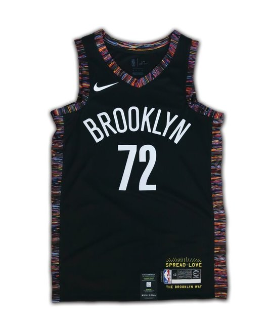 "NIKE NIKE BROOKLYN NETS CITY EDITION ""BIGGIE"" SWINGMAN"