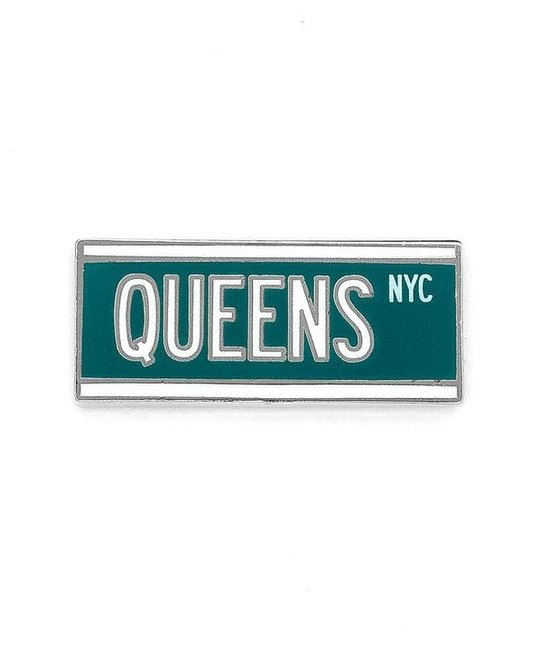 HDQTRS NYC QUEENS AVE HAT PIN