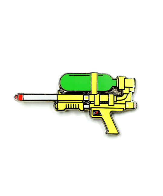 HDQTRS NYC SUPER SOAKER HAT PIN