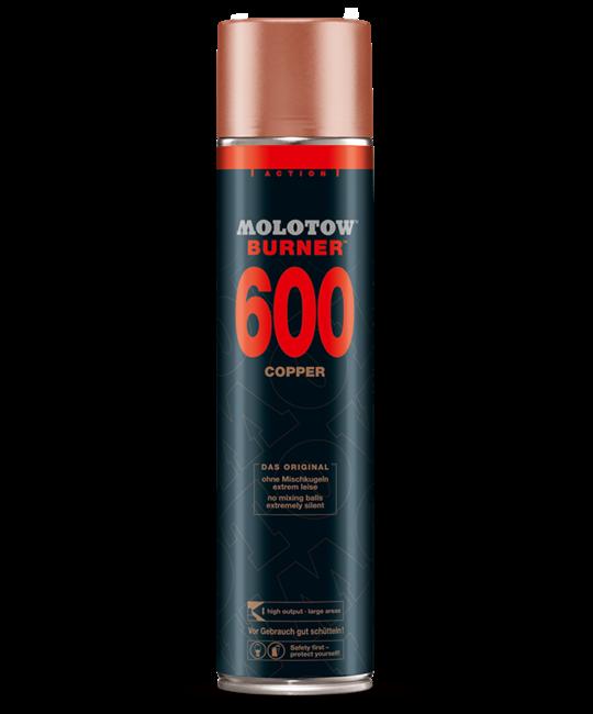 MOLOTOW BURNER 600 ML SPRAYPAINT Burner Copper OS