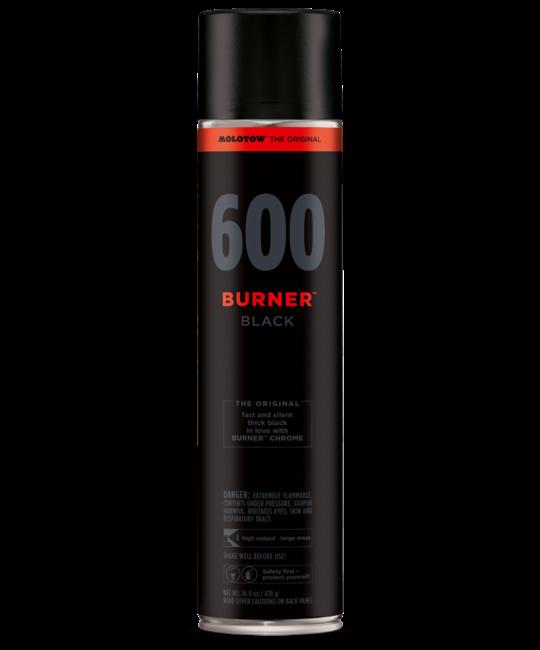MOLOTOW BURNER 600ML SPRAYPAINT Burner Black OS