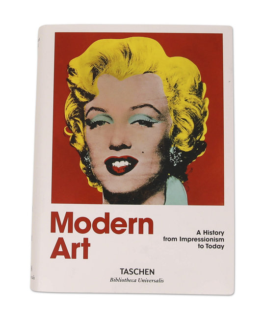 TASHEN MODERN ART A HISTORY FROM IMPRESSIONISM TO TODAY
