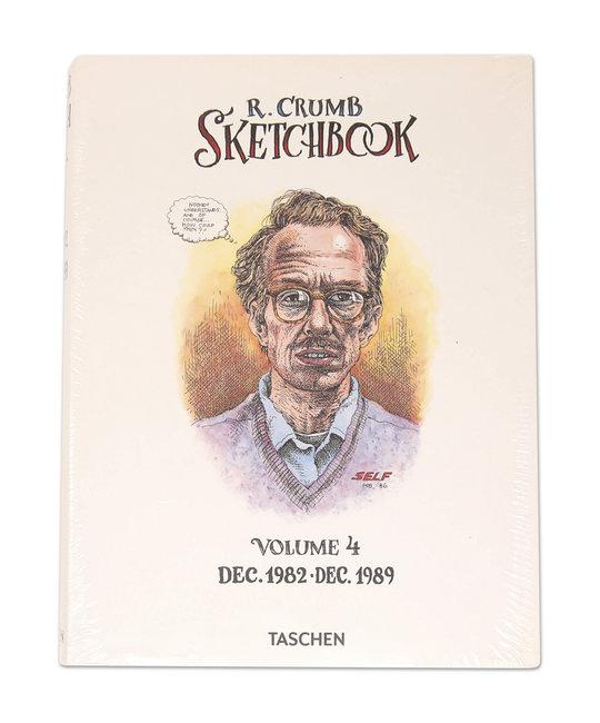 TASHEN  ROBERT CRUMB SKETCHBOOK VOL 4
