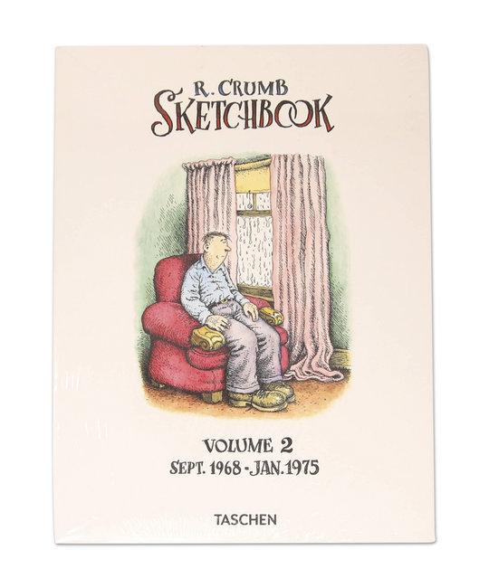 TASHEN ROBERT CRUMB SKETCHBOOK VOL 2