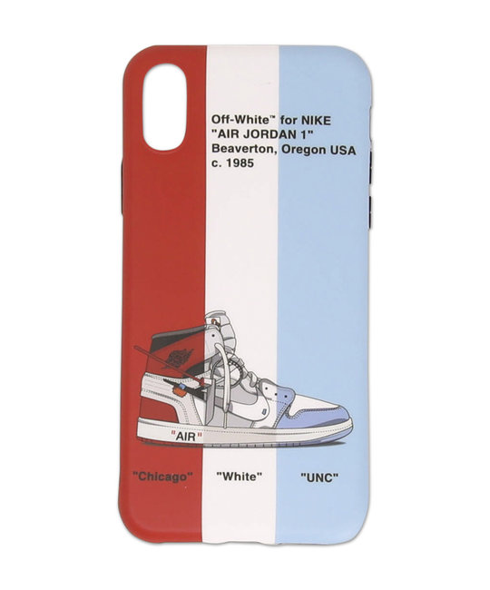 TRIPLE OFF WHITE PHONE CASE